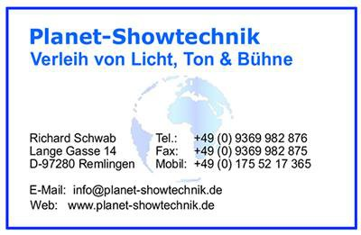 Planet-Showtechnik